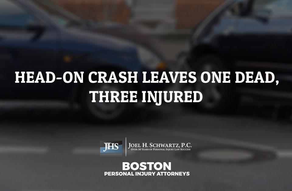 Head-On Crash Leaves One Dead, Three Injured