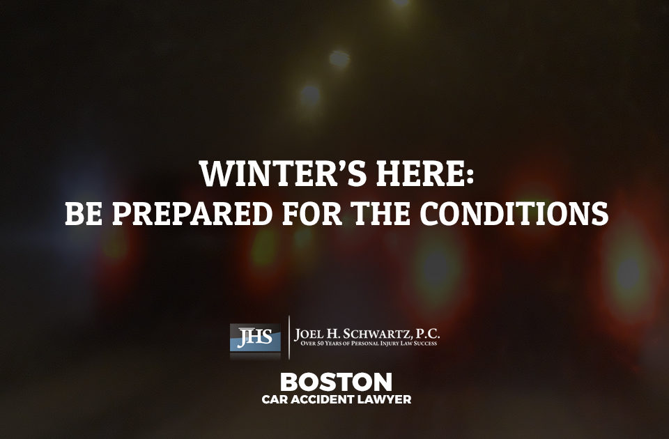 Winter's Here: Be Prepared for the Conditions