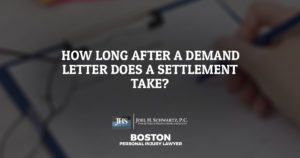 How Long After a Demand Letter Does a Settlement Take?