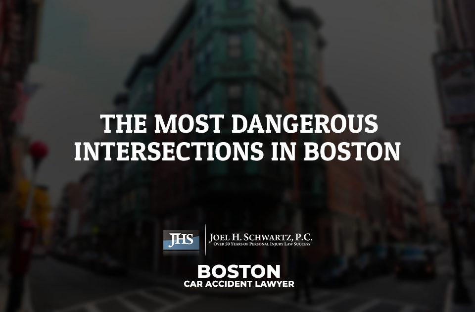 The Most Dangerous Intersections in Boston