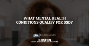 What Mental Health Conditions Qualify for SSD?
