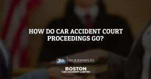 How Do Car Accident Court Proceedings Go?