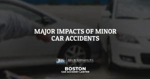 Major Impacts of Minor Car Accidents