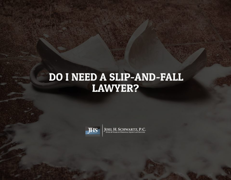 Do I Need a Slip-and-Fall Lawyer?