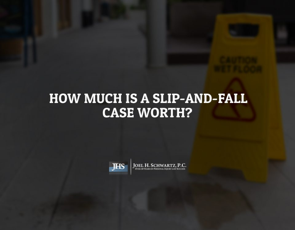 How Much Is a Slip-and-Fall Case Worth?