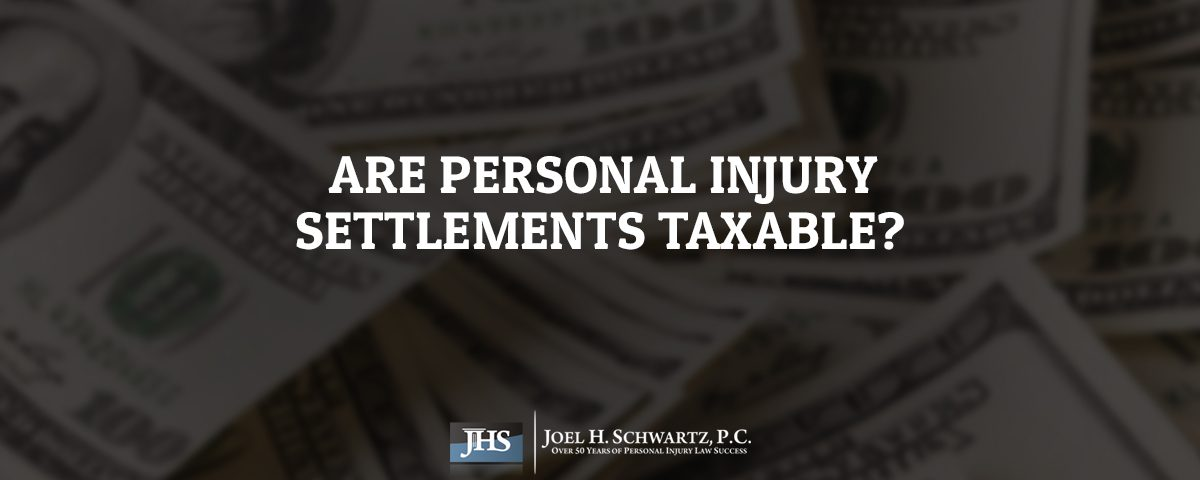 Are Personal Injury Settlements Taxable?
