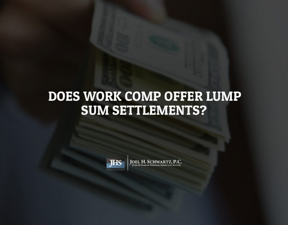 Does Work Comp Offer Lump Sum Settlements?