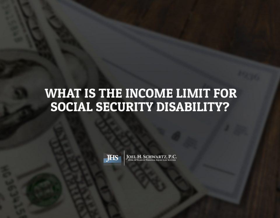 What Is the Income Limit for Social Security Disability?